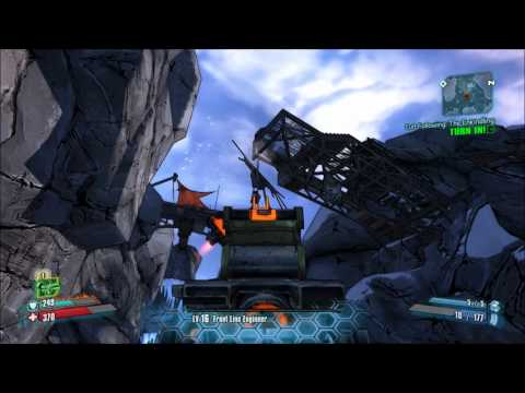 Borderlands 2 Frostburn Canyon Secret Challenges - Burning Sensation