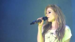 Avril Lavigne -I Love You (The Black Star Tour- Live in Singapore Concert 2011)
