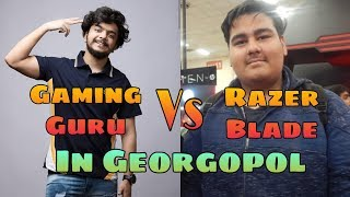 #ShaktimaanGaming Gaming Guru Vs Razer Blade In Georgopol | Emulator | Streamers Vs Streamers India