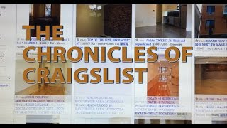 [The Chronicle of Craigslist] Video