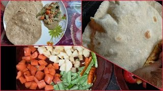 നല്ല സോഫ്റ്റ് ചപ്പാത്തിയും vegetable stew