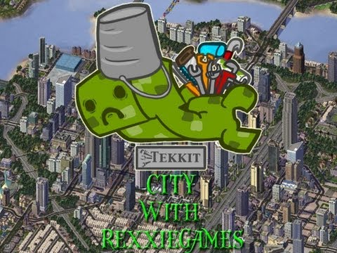 Minecraft - Let's Build - A Tekkit City - Harbor!