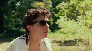 Timothée Chalamet's improvised moments in Call Me By Your Name