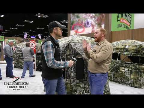 The Surround View Ground Blind and App from Double Bull-2018 ATA Show
