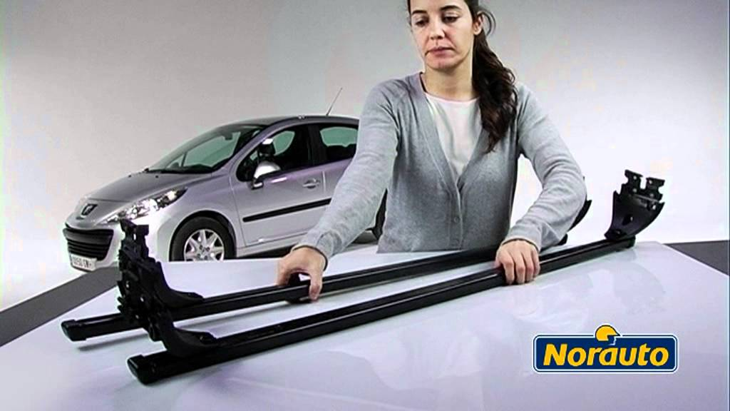 barres de toit norauto pour points d 39 encrage d 39 origine disponible sur youtube. Black Bedroom Furniture Sets. Home Design Ideas