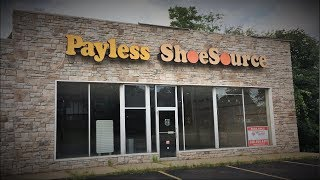 ABANDONED PAYLESS SHOE SOURCE STORE
