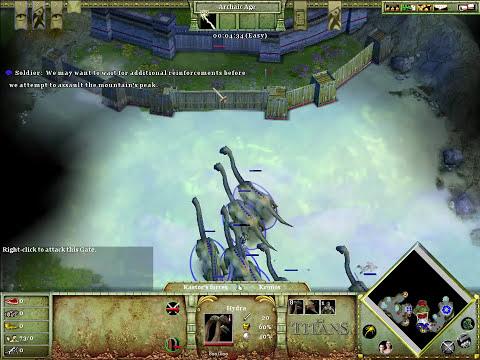 Age of Mythology: The Titans Speedrun M6 (4:08)