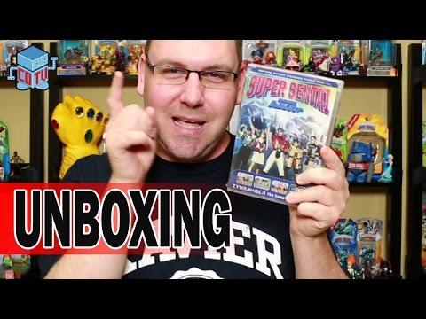 Power Rangers Super Sentai Zyuranger Complete Series Dvd Unboxing video