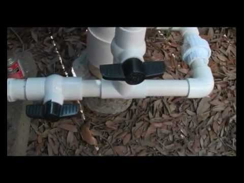 Harbor Freight  well hand pump install