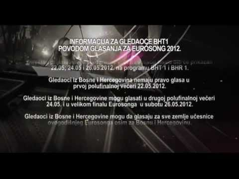 EUROSONG 2012 (informacija za glasanje)
