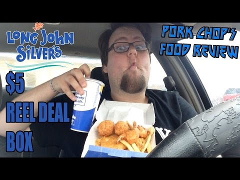 Pork Chop's Food Review: Long John Silver's $5 Reel Deal Box