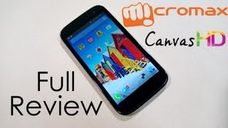 Micromax Canvas HD A116 Full Review - All you need to know!!! - Cursed4Eva.com