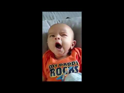 KABIR LEARNING SA RE GA MA PA FROM DAD | AT 2 MONTHS