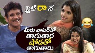 Nagarjuna Hilarious Reply to Anchor Shyamala | Akkineni Nagarjuna Devadas interview | filmylooks