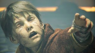 A Plague Tale - Hugo Uses His Super Power To Protect His Mother