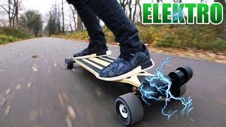 MAJESTIC PRO (PU) ELEKTRO LONGBOARD | Majestic Board Pro  Unboxing - Review - Test [Deutsch/German]