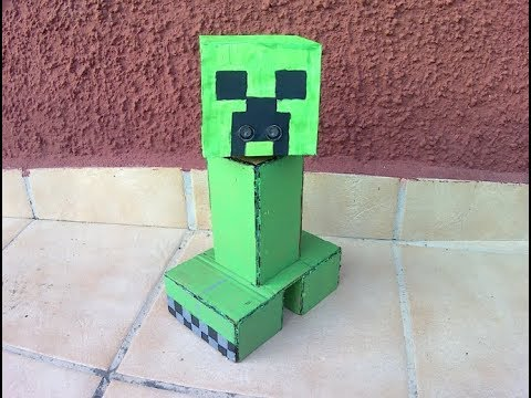 DIY Minecraft Creeper Sentry with Arduino Uno