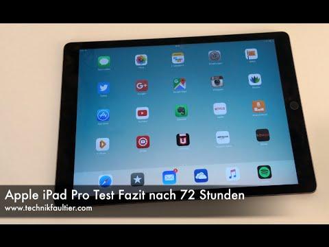 Apple iPad Pro Test Fazit nach 72 Stunden