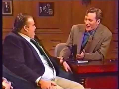 Chris Farley on Conan