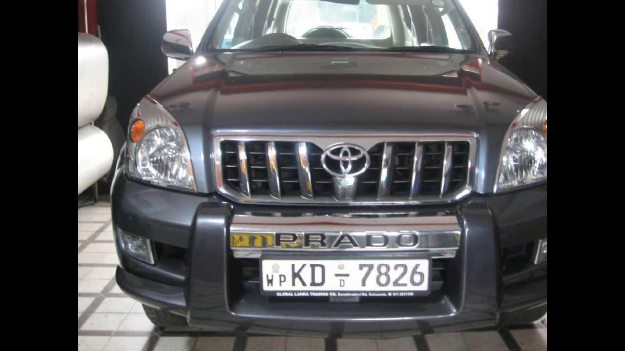 VIP Car Interiors Srilanka TOYOTA PRADO LEATHER SEAT