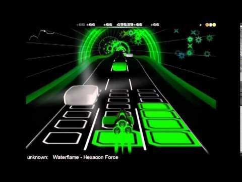 Audiosurf: WaterFlame - Hexagon Force