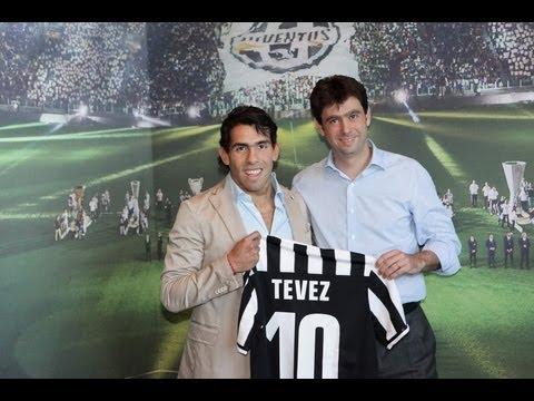 Carlos Tevez alla Juventus - Carlos Tevez joins Juventus