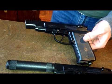 Пневматический пистолет Аникс 101. 101м. 101ЛБ