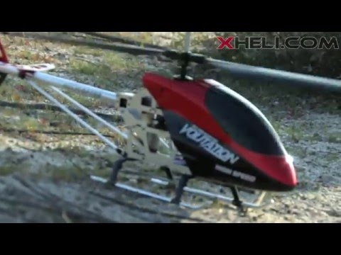 9053 3 Channel Outdoor Volitation Metal Helicopter w/ Built in Gyro