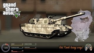 GTA V get Tank (easy way)