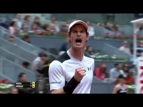 2016 Mutua Madrid Open - Andy Murray beats Rafa Nadal in Semi Final