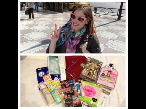 MAKEUP Haul Novita' da TOKYO Prodotti pazzi mai visti in anteprima dal Giappone!