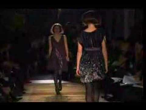 Sue Stemp - Fall 2007 Runway Show Video