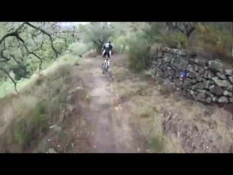Chovar por pista y senda Font de Castro. BTT Mountain Masters