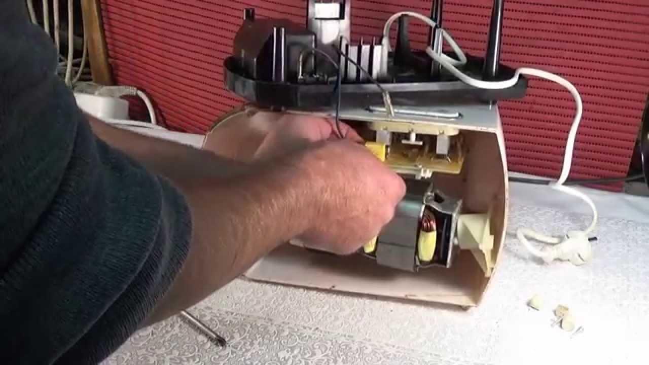 Ремонт электромясорубки помощница своими руками 10