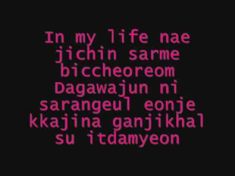 Paradise - T-max (lyrics) Ost Boys Over Flowers video