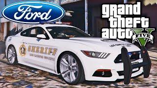 GTA V Ford Mustang da Policia