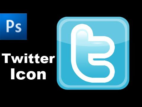 0 Photoshop Tutorial: Create a Twitter Icon   HD