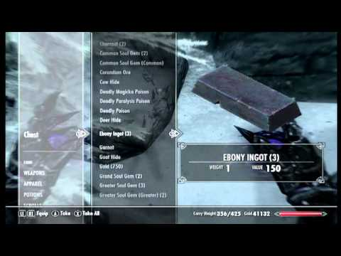 Dawnstar secret chest glitch and new Skyrim update.