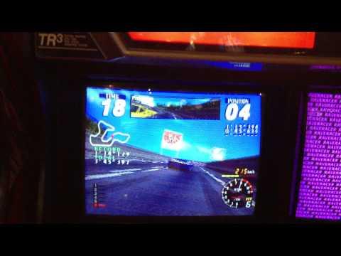 Rave Racer 1995 をプレイ 【上級】