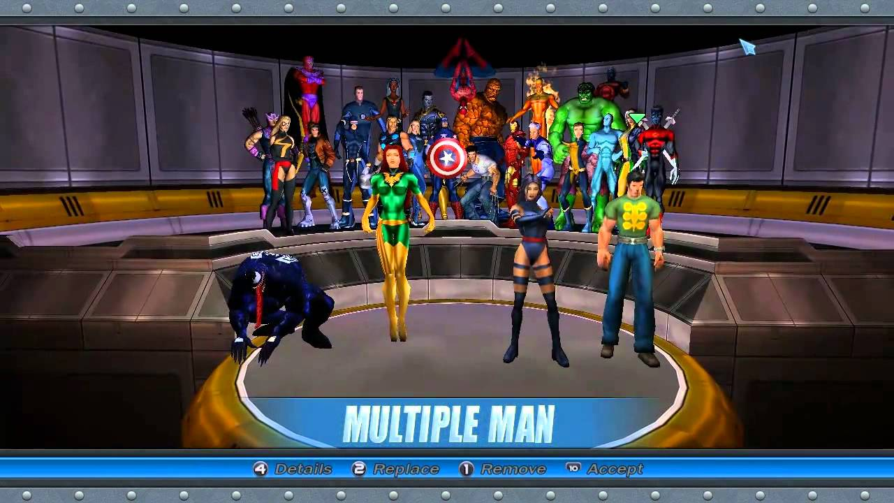 Costume Marvel Ultimate Alliance Marvel Ultimate Alliance Com