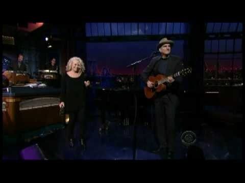 Carole King and James Taylor on Letterman 1/20 (TheAudioPerv.com)