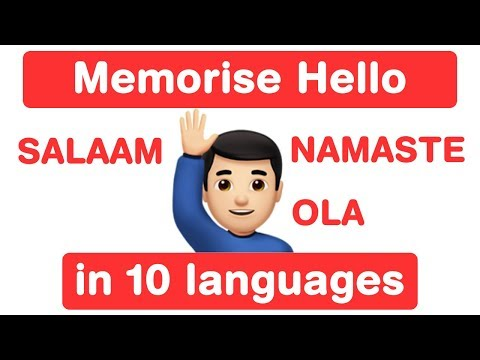 Memory Challenge! Say Hello in Different Languages