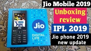 Jio mobile unboxing 2019 review in hindi, IPL match in Jio mobile 2019 new update.