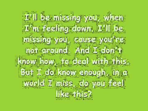 Ill Be Missing You-lil Tweety Ft. Marlene With Lyrics video