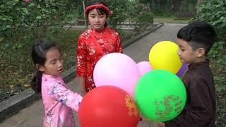 Bé Bán Bóng Bay - Dạy Trẻ Biết Quý Trọng Đồng Tiền - MN Toys
