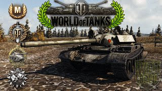 World of Tanks - T55A - 8 Kills - 8.1k Damage - 2.9k spotting [Replay|HD]