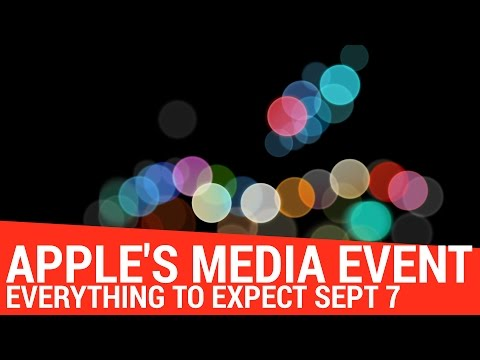 What to Expect at Apple's Sept 7th Media Event