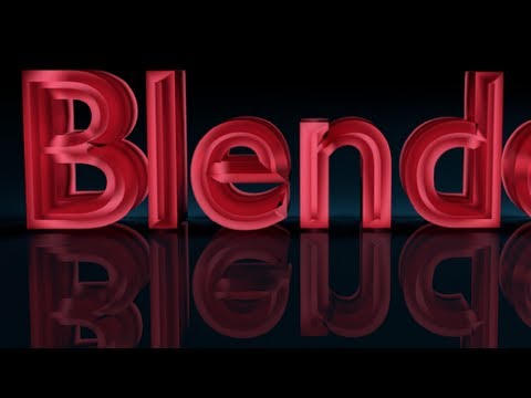 Blender Tutorial For Beginners: 3D text
