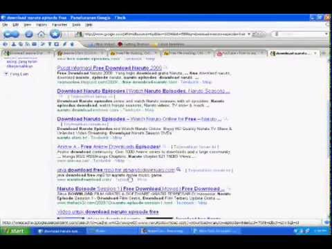 How To Download Naruto,naruto Shippuden,eyeshield21 And Bleach Episode Free.wmv video