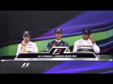 Mark Webber on pole ahead of Sebastian Vettel in Japan